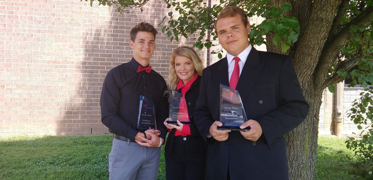 FBLA Broadcast Journalism Team - 9th Place in Nation